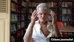 Reporta Cuba. Anciano de Bejucal. Foto: Misael Aguilar.