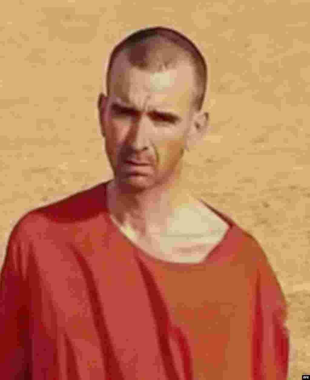 David Haines. detenido y ejecutado por EI.