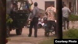 Policía de Placetas arresta a un matrimonio frente a su niña de 10 años