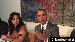 Obama en Cuba @yoanisanchez
