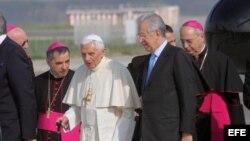 El papa Benedicto XVI en México