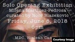 La obra de la pintora cubana Milena Martínez mezcla su experiencia de vida con el entorno social que la rodea.