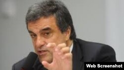 José Eduardo Cardozo.Ministro de Justicia Brasil.