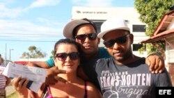 Cubanos en Panamá ya tienen boleto en mano para viajar a México.
