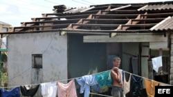 Sobrevivientes a huracanes