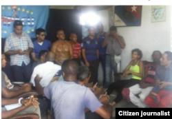 Reporta Cuba Recien liberados activistas de UNPACU