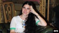 """Foto de archivo de la bloguera cubana Yoani Sánchez, autora del blog """"Generación Y""""."""