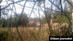 Reporta Cuba. Asentamiento en Bayamo después de la demolición. Foto: Julia Rosa Piña.