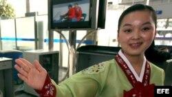 Fotografía de archivo de una mujer asiática.