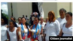 Reporta Cuba Ciudadanas por la Democracia Octubre 2014 Foto Liettys Rachel.