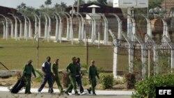 Una prisión cubana. Foto Archivo