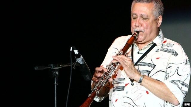 Paquito D' Rivera, durante una presentación  en Miami, Florida