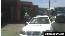 Asedio policial @libertadorbrea