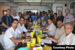 Participantes en Espacio abierto, La Habana, 2015.