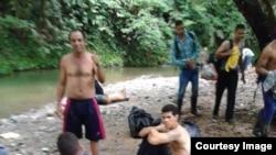 La peligrosa travesía de los cubanos por la selva del Darién