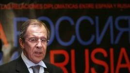 El ministro de Asuntos Exteriores de Rusia, Serguéi Lavrov.