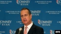 El congresista republicano de Florida, Mario Díaz Balart, en la Convención Nacional Republicana en Tampa.