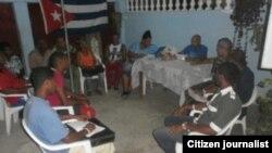 Reporta Cuba Curso de Derechos Humanos. Foto: Vladimir Turró.