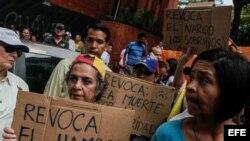 Otro marcha en Caracas para exigir revocatorio