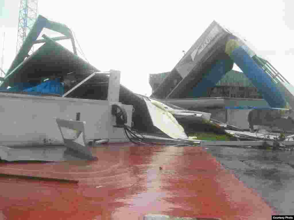 Hoteles afectados en Cayo Coco