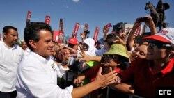El candidato presidencial del PRI, Enrique Peña Nieto.