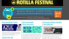 Página web de festival Rotilla anuncia presentación de Azul