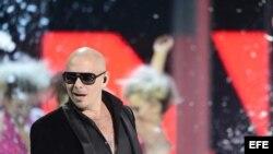 El artista cubanoamericano, Pitbull