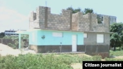 Casas para favorecidos del gobierno foto Yoandris Verane