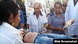 Accidente de tránsito en Sancti Spiritus