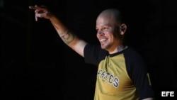 René Pérez de la agrupación Calle 13.
