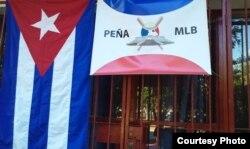La Peña MLB del Parque John Lennon, en El Vedado.