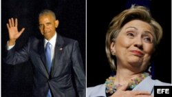 Barack Obama / Hilary Clinton