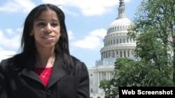 Jessi Calzado Esponda, de balsera a asistente en el Congreso de EEUU.