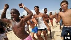 Playa Mi Cayito, importante enclave de la comunidad gay cubana