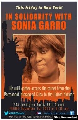 Campaña por la libertad de Sonia Garro / Rolando Pulido