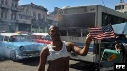 FOTOGALERÍA: La bandera de moda en La Habana