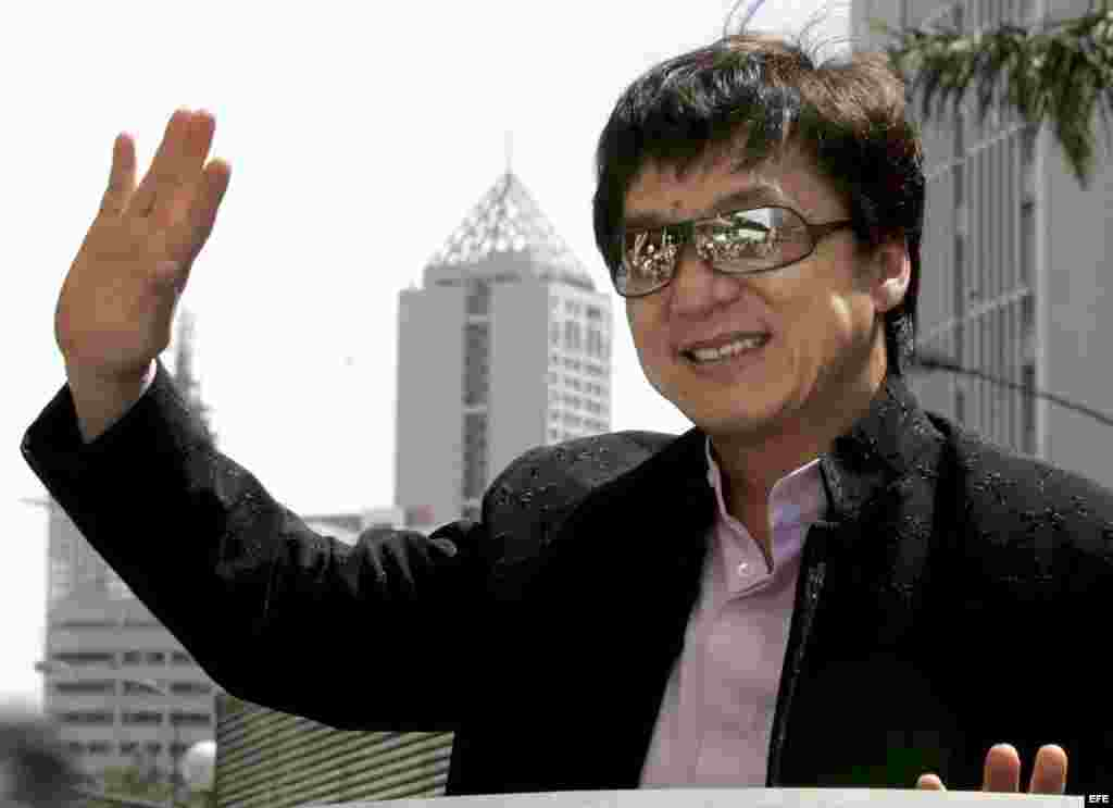El actor del cine de acción Jackie Chan también salpicado en el Panama Papers