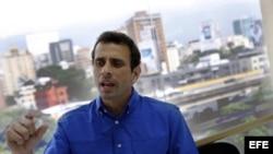 Capriles acusa al gobierno de mentir a los venezolanos