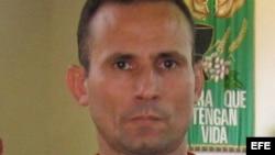 El exprisionero político José Daniel Ferrer García.