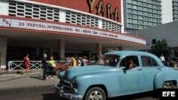 Cine Yara, en La Habana.