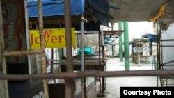 La prohibición fue como un tsunami que barrió con cientos de puestos de venta en las ferias de cuentapropistas (foto Cubanet)