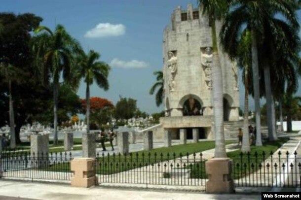 Cementerio Santa Ifigenia en Santiago de Cuba.