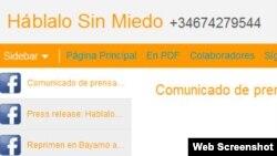 """""""Háblalo sin miedo"""" recibe cientos de denuncias mensuales desde celulares en Cuba"""