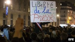 Libertad de expresión: Solidaridad internacional con Francia