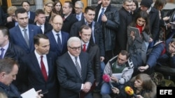 Yanukóvich y la oposición ucraniana firman la paz
