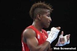 El boxeador cubano Johanys Argilagos.