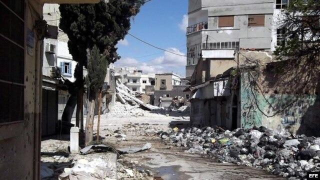 La violencia en Siria ha cobrado miles de vidas. Archivo