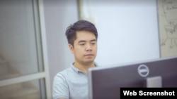 El bloguero vietnamita Phan Kim Khanh.