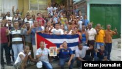 Reporta Cuba. Homenaje a Wilmar Villa. Foto: @luislazaroguanch.