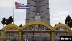 La Plaza de la Revolución de La Habana se alista para recibir a Benedicto XVI